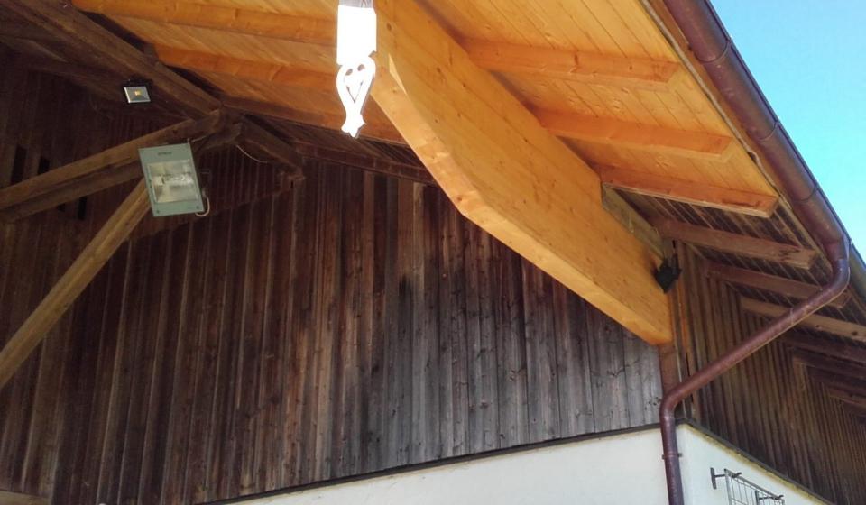 Sanierung Vordach
